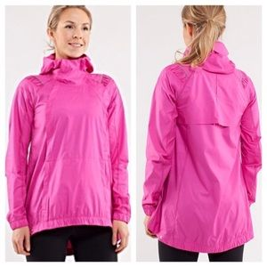 Lululemon Pack and Go Pullover Jacket Pink size 6